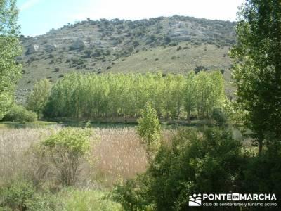 Monumento Natural de la Sierra de la Pela y Laguna de Somolinos; consejos senderismo; pozas de la pe